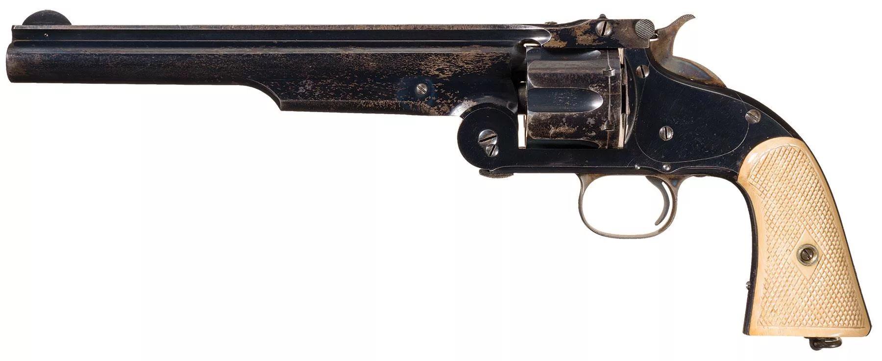 10,67 мм. револьвер Смит-Вессон.
